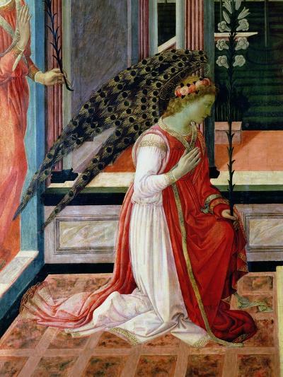 Annunciation (Detail)-Filippino Lippi-Giclee Print