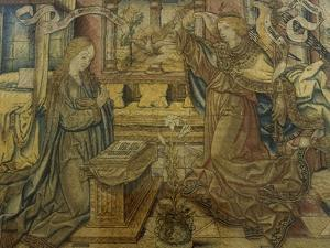 Annunciation Flemish Tapestry