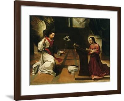 Annunciation, Ludovico Carracci--Framed Giclee Print