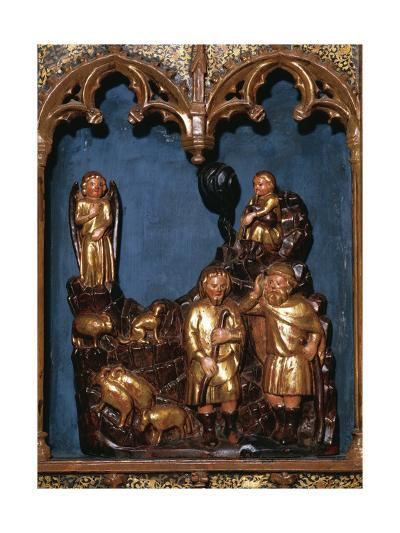Annunciation of the Shepherds, Altarpiece of the Virgin of the Star, 1351--Giclee Print