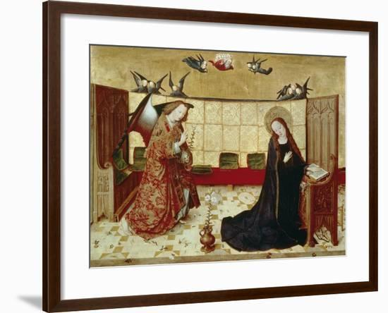 Annunciation, Scene from the Life of the Virgin Mary, C.1460/65--Framed Giclee Print