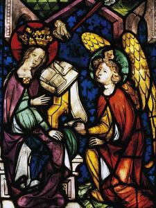 Annunciation, Stained Glass Window