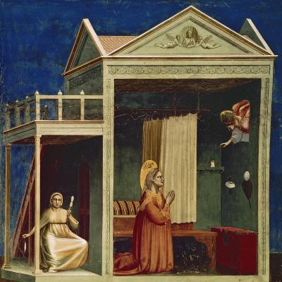 Annunciation to St. Ann-Giotto di Bondone-Giclee Print