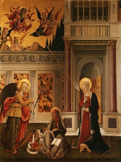 Annunciation, with Saint Luke the Evangelist-Benedetto Bonfigli-Giclee Print