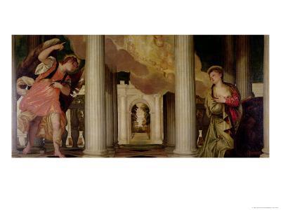 Annunciation-Paolo Veronese-Giclee Print