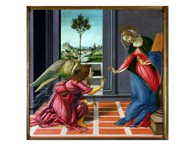 Annunciation-Sandro Botticelli-Giclee Print