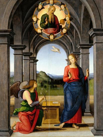 Annunciation-Pietro Perugino-Giclee Print