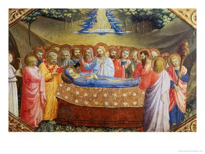 Annunciation-Angelico & Strozzi-Giclee Print