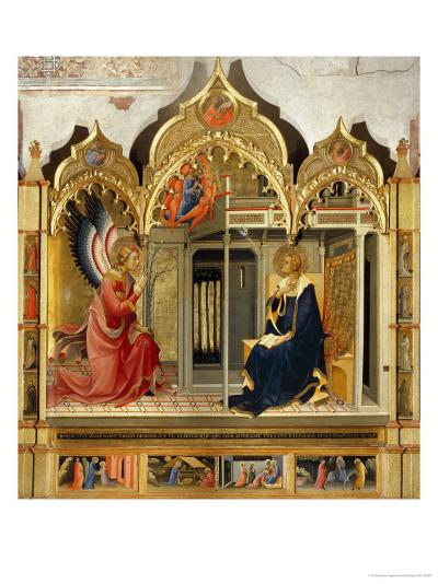 Annunciation-Lorenzo Monaco-Giclee Print