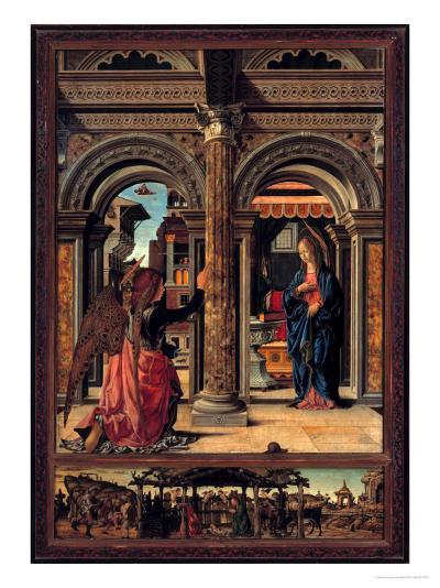 Annunciation-Francesco del Cossa-Giclee Print