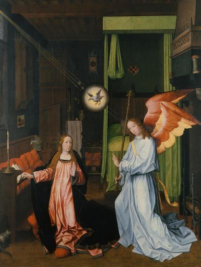 Annunciation-Jan Provost-Giclee Print