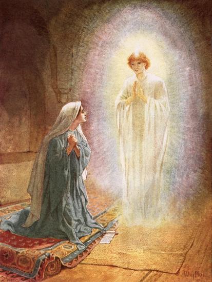 Annunciation-William Brassey Hole-Premium Giclee Print