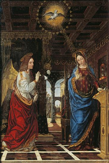 Annunciation- Bergognone-Giclee Print