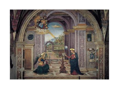 Annunciation-Bernardino  di Betto (Pinturicchio)-Giclee Print