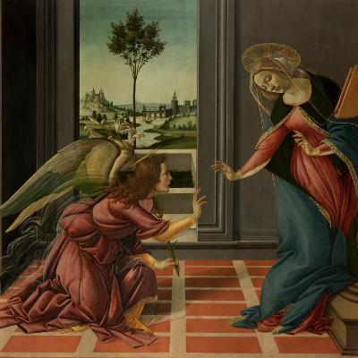 Annunciation-Sandro Botticelli-Art Print
