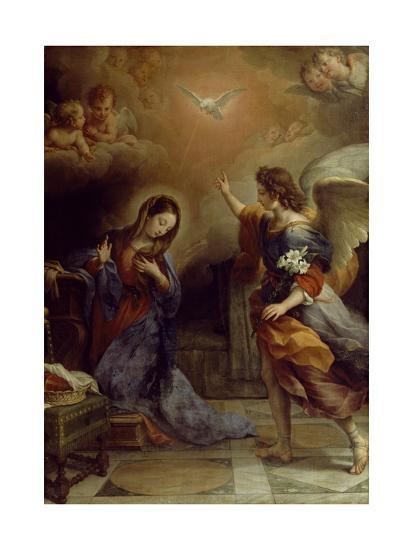 Annunciation-Alban Maria Johannes Berg-Giclee Print
