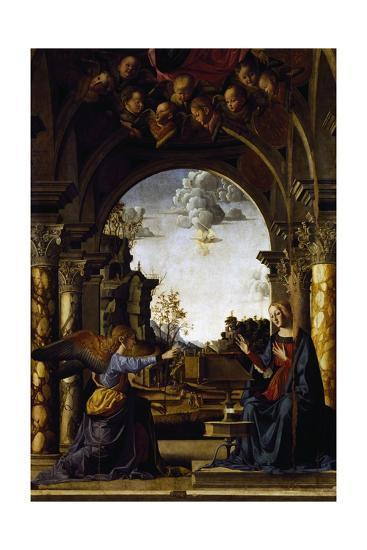 Annunciation-Marco Palmezzano-Giclee Print