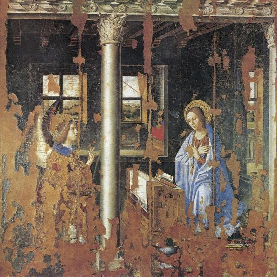 Annunciation-Antonello da Messina-Giclee Print