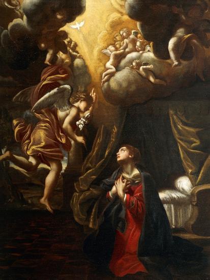 Annunciation-Giovanni Lanfranco-Giclee Print