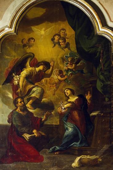 Annunciation-Luca Cambiaso-Giclee Print