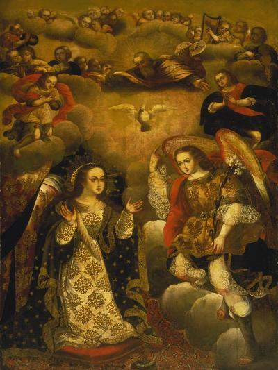 Annunciation-Basilio Santa Cruz Pumacallao-Giclee Print
