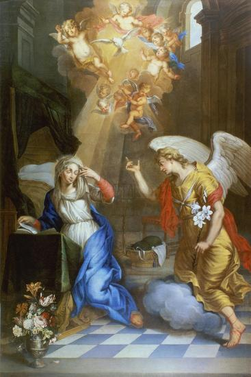 Annunciation-Oswald Onghers-Giclee Print