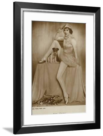 Anny Ondra--Framed Photographic Print