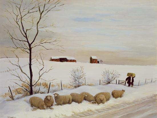 Another Hard Winter-Margaret Loxton-Giclee Print