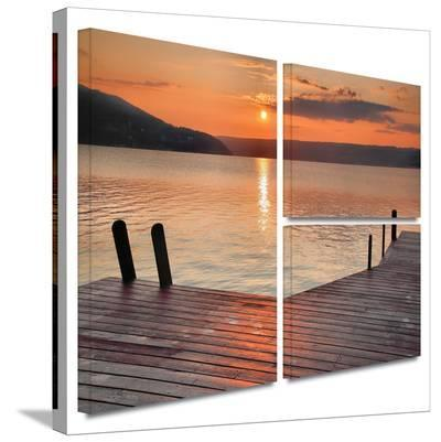 Another Kekua Sunrise Gallery-Wrapped Canvas-Steve Ainsworth-Gallery Wrapped Canvas Set