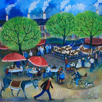 Another Market Day, 2008-Lisa Graa Jensen-Giclee Print