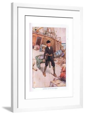 Another Visit to the Wreck-Arthur A. Dixon-Framed Giclee Print