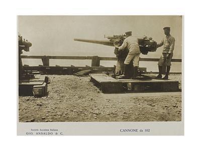 World War I: Cannon 102