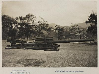 World War I: Cannon 152 Platform