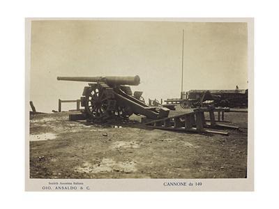 World War I: Cannone Da 149