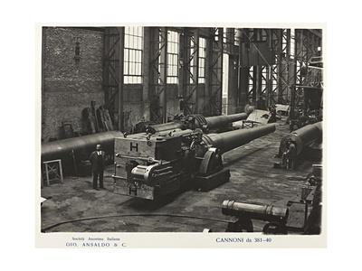World War I: Cannoni Da 381-40