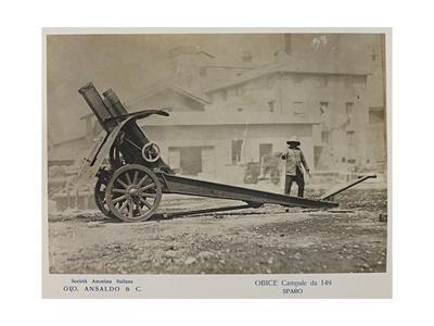 World War I: Obice Campale Da 149 (Howitzer)
