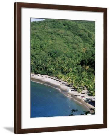 Anse Chastenet, St. Lucia, Windward Islands, West Indies, Caribbean, Central America-John Miller-Framed Photographic Print