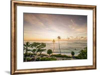 Anse Forbons beach, Mahe, Republic of Seychelles, Indian Ocean.-Michael DeFreitas-Framed Photographic Print