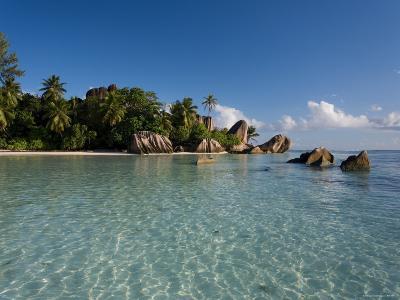 Anse Source d'Argent Beach, La Digue Island, Seychelles-Michele Falzone-Photographic Print