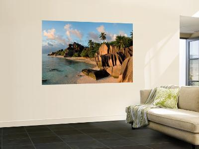 Anse Source d'Argent Beach, La Digue Island, Seychelles-Michele Falzone-Wall Mural
