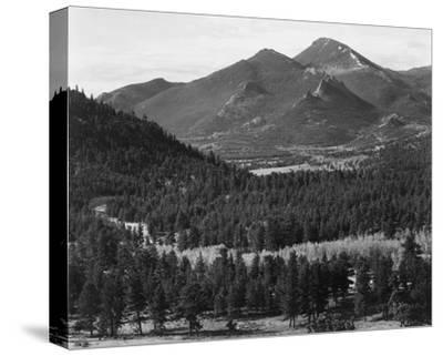 Barren mountains, Rocky Mountain National Park, Colorado, ca. 1941-1942