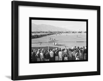 Baseball Game at Manzanar