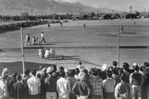 Baseball Game by Ansel Adams