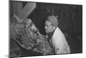 Butcher Shop, (J.S. Yonai) by Ansel Adams