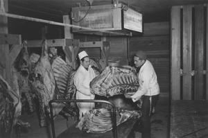 Butcher Shop by Ansel Adams
