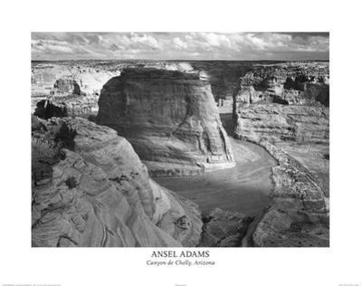 Ansel Adams Canyon De Chelly Landscape Photo Art Poster Print