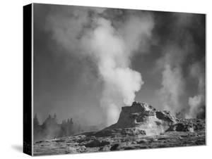 Castle Geyser Cove Yellowstone National Park Wyoming, Geology, Geological 1933-1942 by Ansel Adams