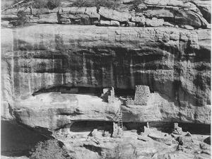 "Cliff Dwellings ""Mesa Verde National Park"" Colorado ""1941."" 1941 by Ansel Adams"