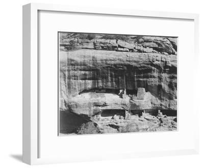 "Cliff Dwellings ""Mesa Verde National Park"" Colorado ""1941."" 1941"