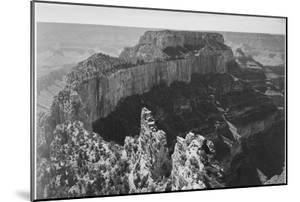 """Close-In View Of Curved Cliff """"Grand Canyon National Park"""" Arizona by Ansel Adams"""
